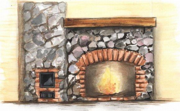Дизайн и проекты каминов