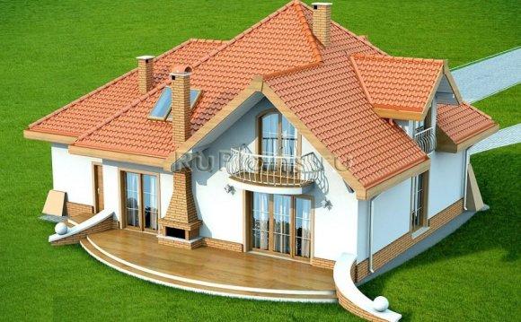 Проект просторного дома с