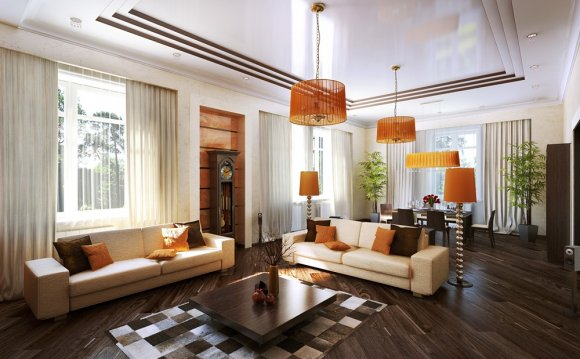 Гостинная в доме дизайн